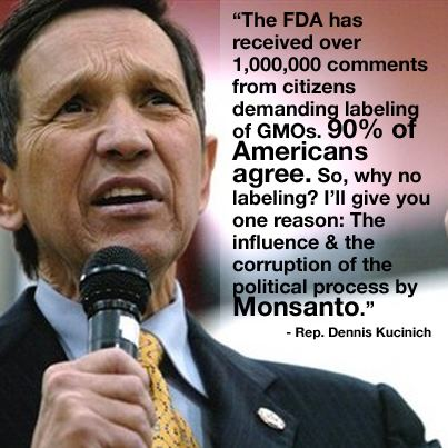Dennis Kucinich on Monsanto